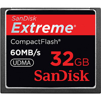 SanDisk CF 32Gb Extreme 60MB/s