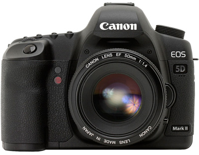 Canon EOS 5D Mark II camera hire from RENTaCAM Sydney