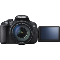 Canon EOS 700D digital camera hire from RENTaCAM