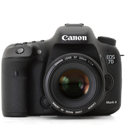 Canon EOS 7D mark II camera hire from RENTaCAM Sydney