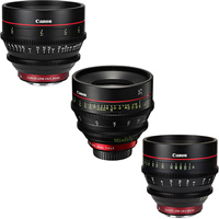 Any 3 Canon CN-E cinema lens kit hire RENTaCAM Sydney