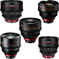 Any 5 Canon CN-E cinema lens kit hire RENTaCAM Sydney