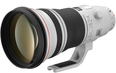 Canon EF 400mm f/2.8L IS II USM hire from RENTaCAM Sydney
