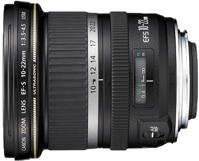 Canon EF-S 10-22mm f/3.5-4.5 USM lens hire from RENTaCAM Sydney