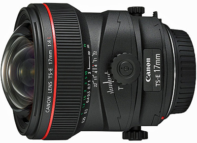 Canon TS-E 17mm f/4 lens hire from RENTaCAM Sydney