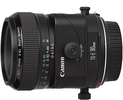 Canon TS-E 90mm f/2.8 lens hire from RENTaCAM Sydney