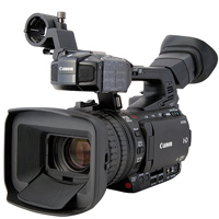 Canon XF 205 HD camcorder hire from RENTaCAM Sydney