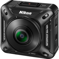 Nikon KeyMission 360 Action camera hire from RENTaCAM
