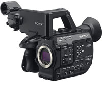 Sony PXW-FS5 Mark 2 4K XDCAM Super35mm Camera hire hire from RENTaCAM Sydney