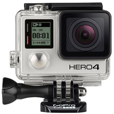GoPro HD HERO4 Black Edition camera hire from RENTaCAM Sydney