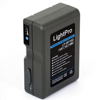 LightPro V-lock LP-BP160 battery hire from RENTaCAM Sydney