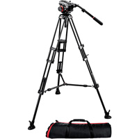 Manfrotto 546B-PRO Video Tripod with 504HD Fluid Video Head