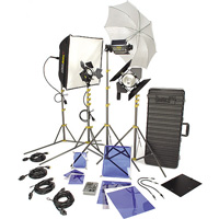 Lowel DV Creator 55 video light Kit for rent from RENTaCAM Sydney