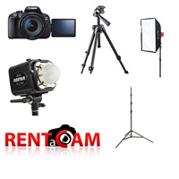 Hire RENTaCAM Photobooth kit for hire from RENTaCAM