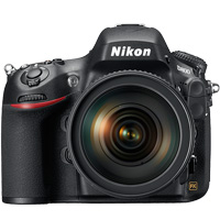Nikon D800 digital camera hire from RENTaCAM