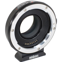 Metabones Canon EF lens to Sony E-mount camera speed booster hire RENTaCAM Sydney